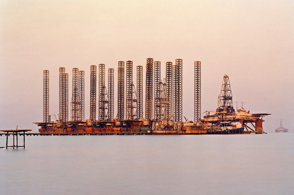 Socar Oil Fields #6 Edward Burtysnky Photography Baku, Azerbaijan