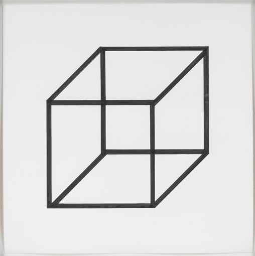 Sol LeWitt Form Derived from a Cube3