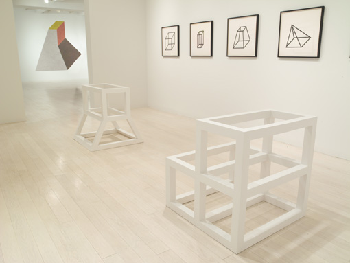 Sol LeWitt Forms Derived from a Cube9