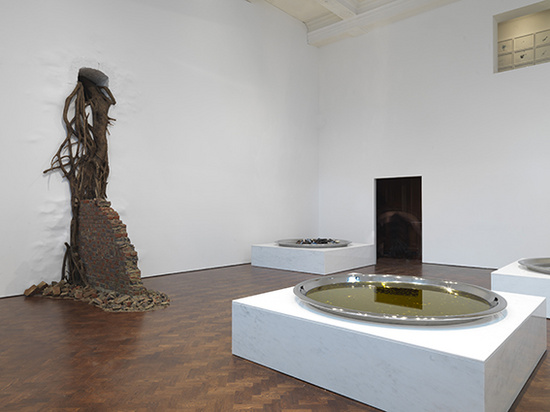 Subodh Gupta Common Man installation view4