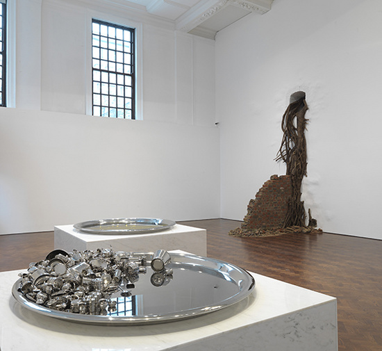 Subodh Gupta Common Man installation view5