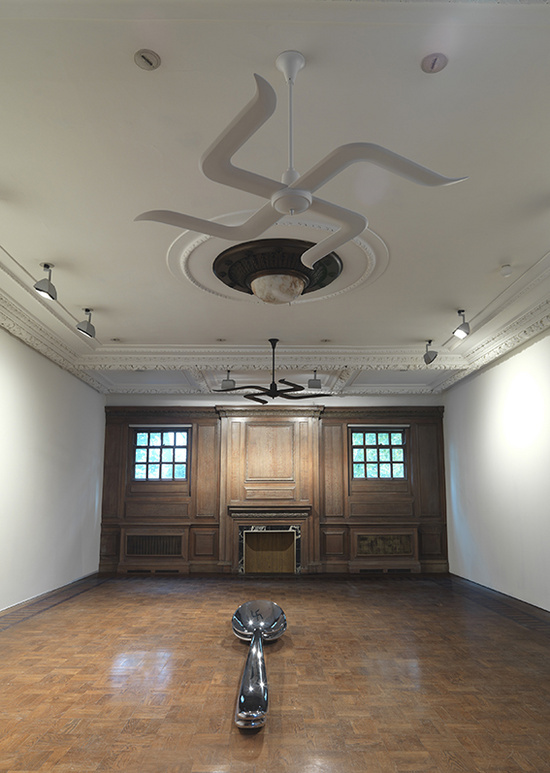 Subodh Gupta Common Man installation view8