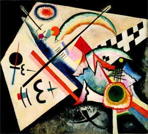 White Cross-Kandinsky-1922