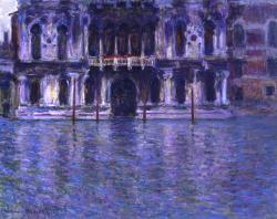 Claude Monet-Le Palais Contarini Venise-1908