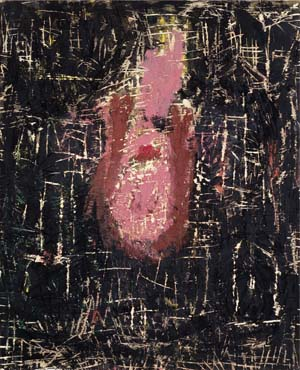 George Baselitz-Women of Dresden-The Laughing-1990