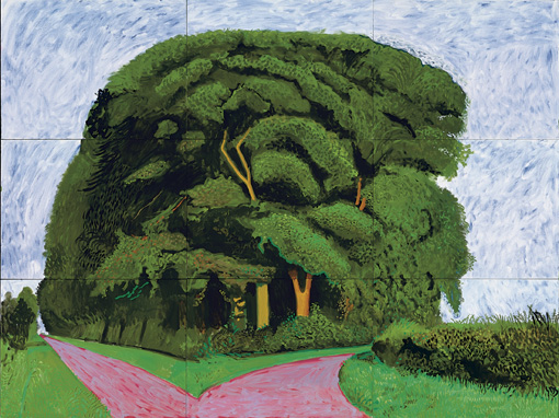 Bigger Trees Nearer Warter-David Hockney- Summer 2008