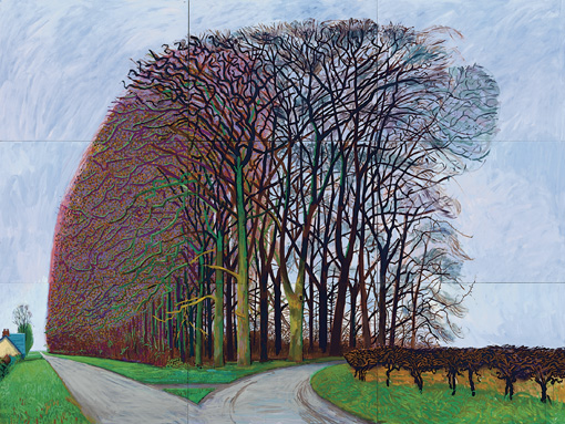 Bigger Trees Nearer Warter-Hockney-Winter 2008