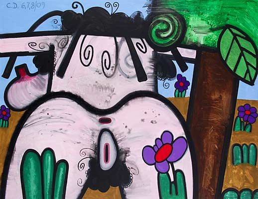 Carroll Dunham Gladstone Gallery (Hers) Night and Day 1