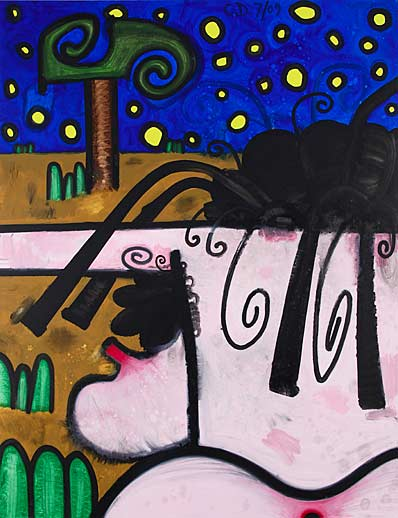 Carroll Dunham Gladstone Gallery (Hers) Night and Day 6