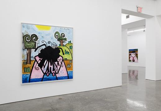 Carroll Dunham Gladstone Gallery5