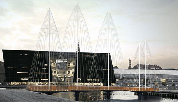 Cirkelbroen Olafur Eliasson bridge Copenhagen