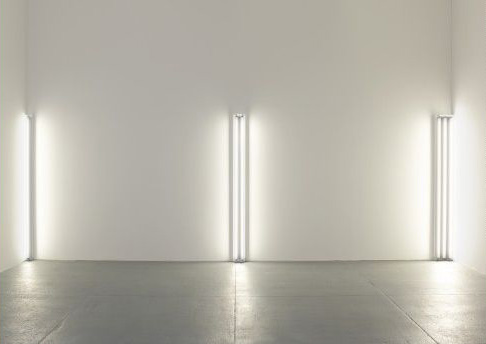 Dan Flavin_the nominal  three-1963