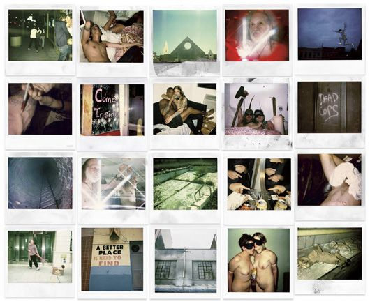 Dash Snow Polaroid Wall