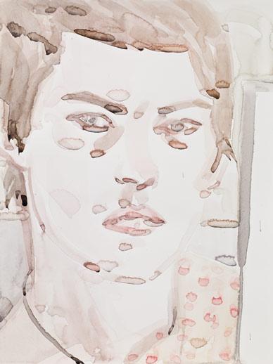 "Elizabeth Peyton ""Self Portrait"" 2009 Via Gladstone"