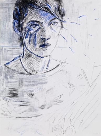 Peyton Self Portrait 2, 2009, Via Gladstone