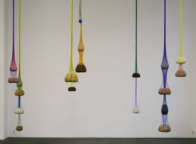 Ernesto Neto-Variation on Color Seed Space Time Love-2009