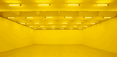 Olafur Eliasson-Room for one Color-1997