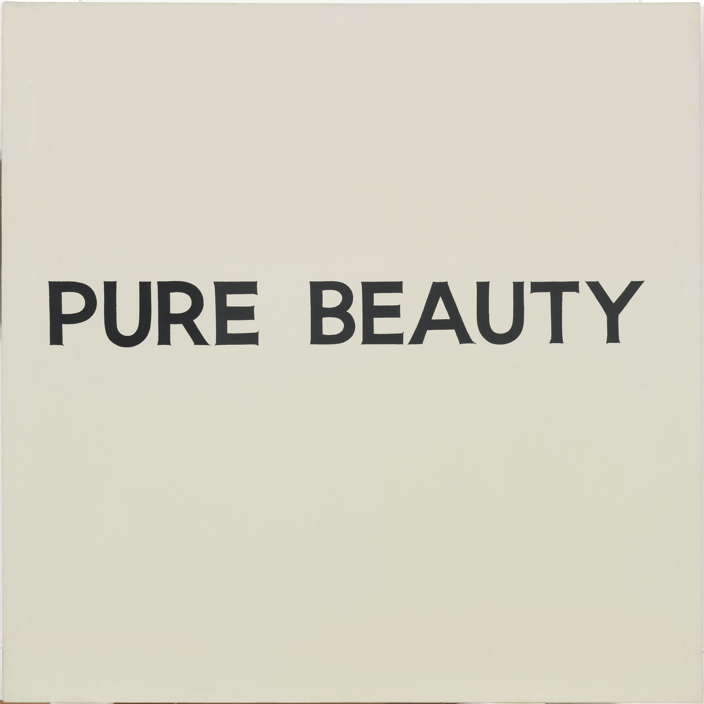 Pure Beauty John Baldessari