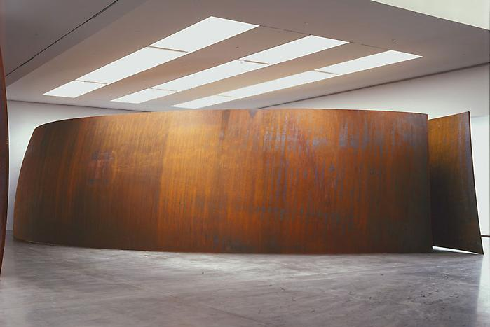 Richard Serra Gagosian Blindspot