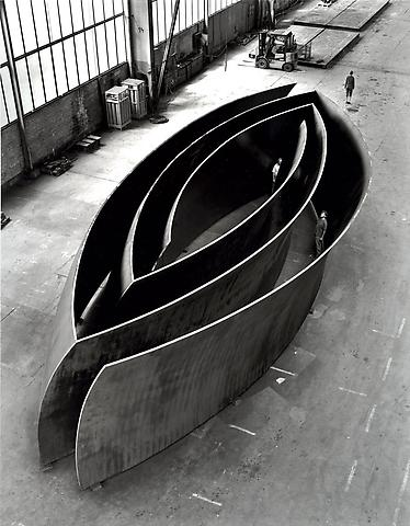 Richard Serra Gagosian Open Ended