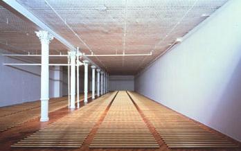 The Broken Kilometer, Walter De Maria Dia Art Foundation