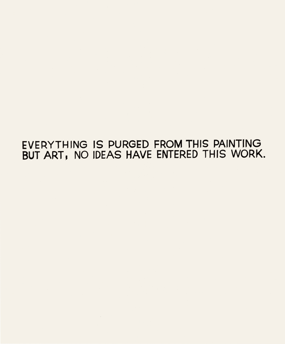 Everything is Purged…, 1966-68 john baldessari