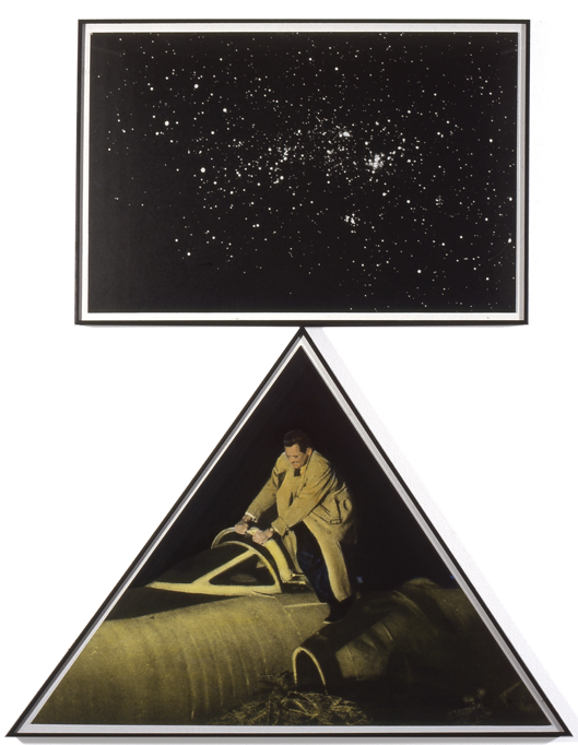 Starry Night Balanced On Triangulated Trouble, 1984 John Baldessari Tate