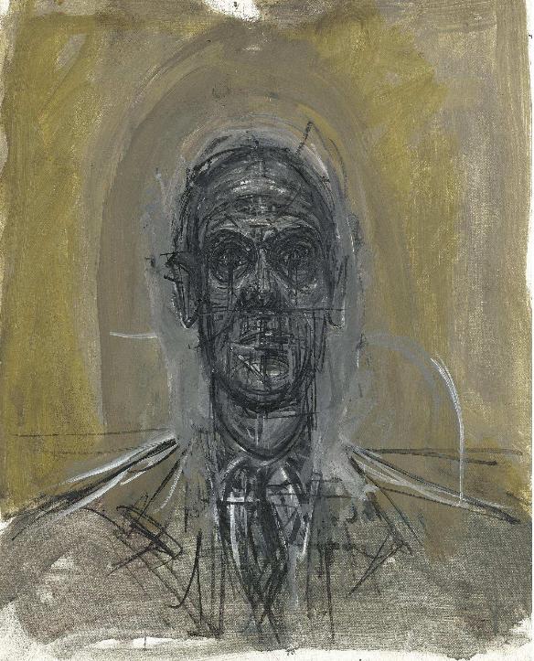 Tête d'homme, Alberto Giacometti (1964-65)