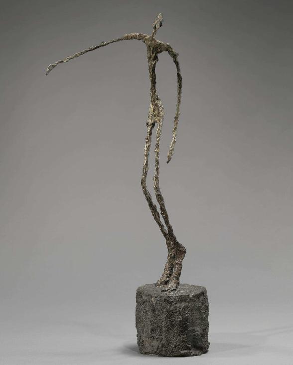 L'Homme qui Chavire Alberto Giacometti