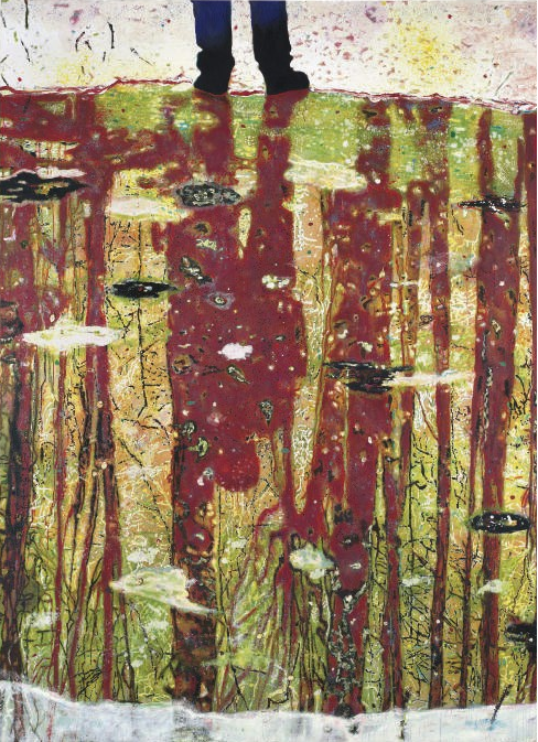 Reflection (What does your soul look like) Peter Doig