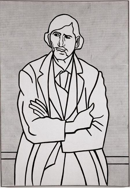 Man with Folded Arms (1962) Roy Lichtenstein