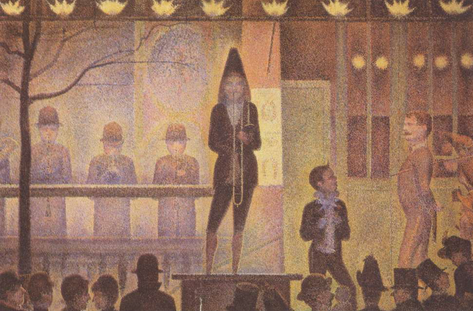 Seurat, 1888, Circus Parade, Via Art Knowledge