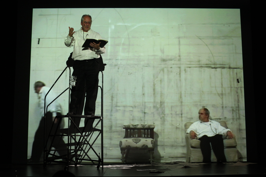William Kentridge, I Am Not Me, The Horse Is Not Mine, A Performa 09 Premiere, Photo by Paula Court, Courtesy of Performa, IMAGE 1