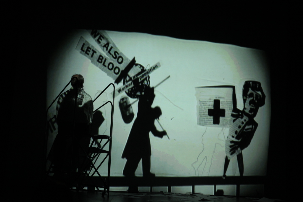 William Kentridge, I Am Not Me, The Horse Is Not Mine, A Performa 09 Premiere, Photo by Paula Court, Courtesy of Performa, IMAGE 2