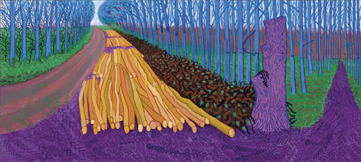 Winter Timber-David Hockney-2009