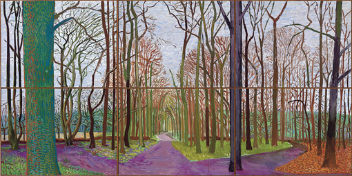 Woldgate Woods-David Hockney-2006