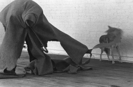 Joseph Beuys-I like America and America Likes Me-1974