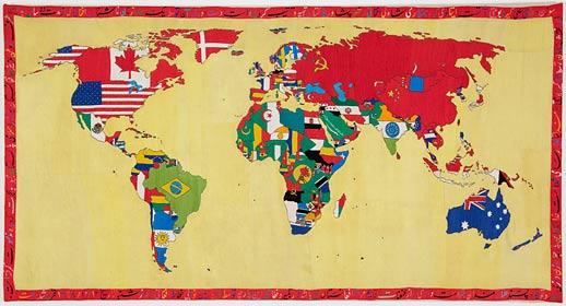 Alighiero e Boetti mappa gladstone12