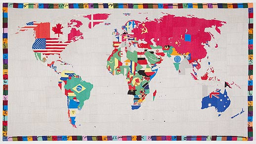 Alighiero e Boetti mappa gladstone8