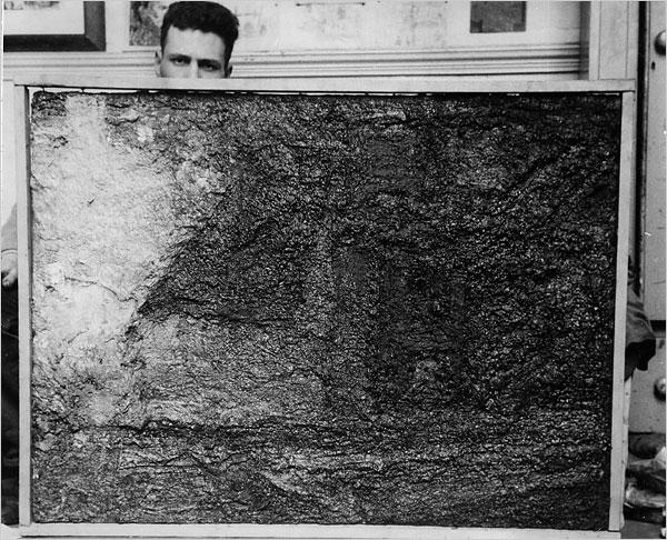 Auerbach, Portrait, 1953, Via NYT