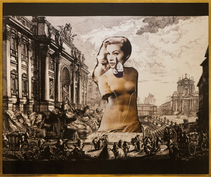 Francesco Vezzoli-Untitled-La Dolce Vita featuring René Magritte-2008