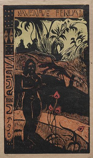 Gauguin, 'Noa Noa Nave Nave' 1893 Via Cleveland Museum