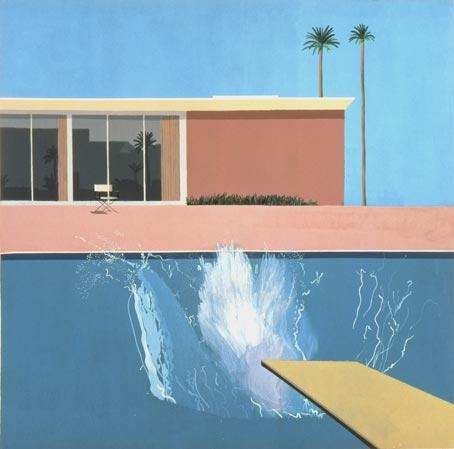 Hockney, A Bigger Splash, 1967, Via Nottingham Contemp.