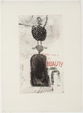 "Hockney ""Kaisarion and All his Beauty"" 1961"