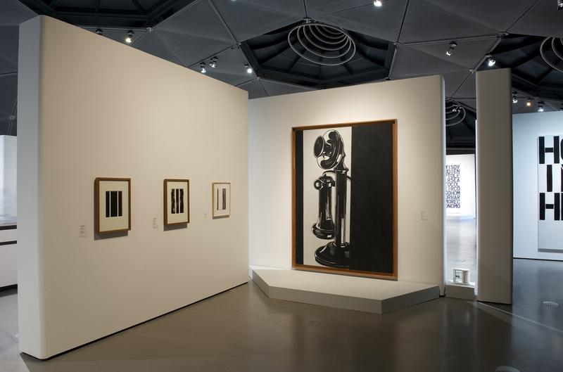 Installation View, Warhol, Wool, Newman 2009 Via Kunsthaus Graz