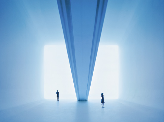 "James Turrell, ""Ganzfeld Piece (model) 2008, Via Design Boom"