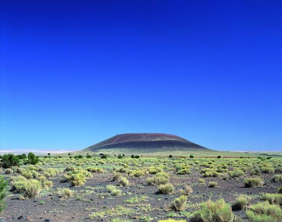 James Turrell, Roden  Crater, Blick Von Sudwesten