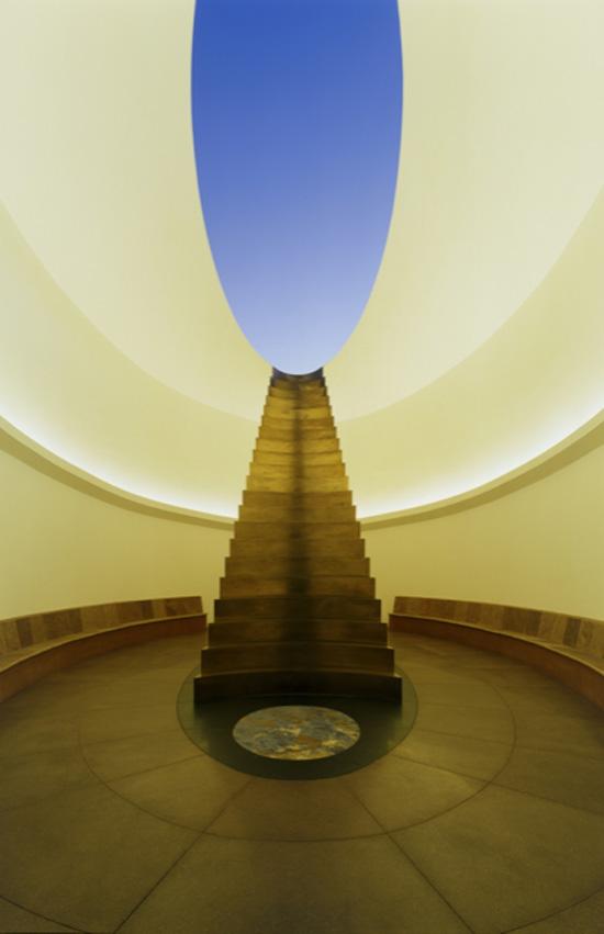 "James Turrell, ""Roden Crater, East Portal, Skyspace"" Via DesignBoom"