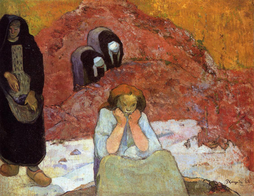 Paul Gauguin, Human Misery, 1888 Via abcgallery