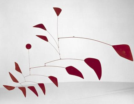 Calder Retrospective Rome Big Red